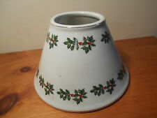 Holly Berry Candle topper for jar candle Vintage Home Interiors