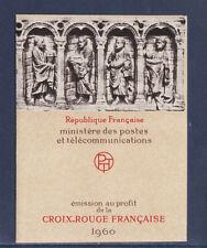 timbres France carnet croix rouge  1960 **