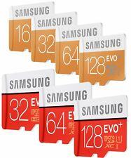 8/16/32/64/128 GB Samsung EVO plus Micro SD SDHC/SDXC CLASS 10 RD MK