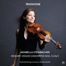 Arabella Steinbacher; Festival Strings Luce - Mozart: Violin Concerto (NEW SACD)
