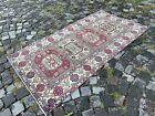 Handmade area rug, Wool carpet, Bohemian rug, Turkish rug, Kilim   3,1 x 5,8 ft