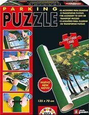Educa Borrás 13390 - Educa Parking Puzzle. Tapete para guardar los puzzles.