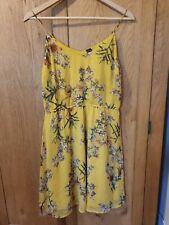 Women's  Floral Yellow Summer Dress (Vera Moda) size M EU/UK