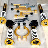 32-Way Adjustable Coilovers + Suspension Kits For Nissan 200sx S14 S14A S15