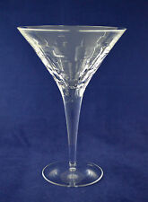 "Royal Doulton Crystal ""ABACUS"" Martini / Cocktail Glass – 19.5cms (7-5/8″) Tall"