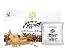 25 Cialde ESE 44 mm Caffe' BOZZETTI Aromatizzato CAFFE' AL GINSENG