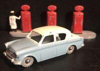 VTG '58 Diecast LESNEY MATCHBOX Hillman Minx Bluish Gray Body No.43 (GMW)