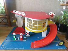 Jouet vintage Garage Caltex de marque SIO made in Holland années 60