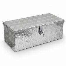 TruckBox MS-50 Aluminium Werkzeugkiste Deichselbox Anhängerbox Gurtkiste Alubox