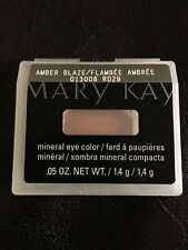 Mary Kay Mineral Eye Color Shadow Amber Blaze NOS