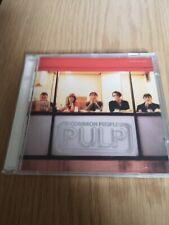Pulp ‎– Common People - CD Single