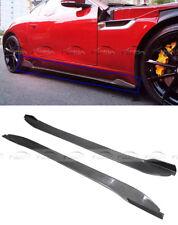 Carbon Fiber Side Skirts Extension For Jaguar F-TYPE R Coupe SVR V8 S 2013-2017