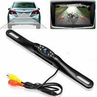 8LED Car Rear View Reverse Camera Backup HD Night Vision Waterproof CMOS Back Up