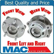 Front (2) 1 Pair Hub Bearings for FX35 EX35 G37M37 X All Wheel Drive Models Only