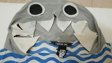 ASOS Women THE RODNIK BAND Sexy Fun Quirky Shark Hoodie Crop Top Size 4 US Rare