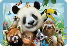 EuroGraphics Howard Robinson Panda & Friends Selfie 3D Placemat