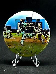 New York Jets Joe Namath pin/no clasp w/stand-For desktops/Man Cave-BROADWAY