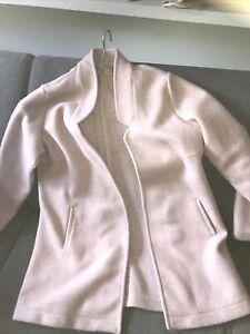 Blazer/ Cardigan Strickjacke Rosa/Pastel Gr. 44/46 AJC Fashion