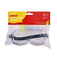 AMTECH Safety Goggles Protection Goggles Glasses Vented Vents Adjustable Strap
