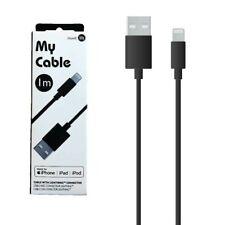 Muvit USB Kabel / Blitz Mfi 1 Meter Schwarz My Kabel