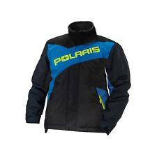 Polaris Drifter Snowmobile Jacket Men's New Part number 286853312 BLACK/BLUE 2XL