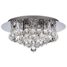 Searchlight 4404-4CC IP44 Hanna Chrome 4 Light Bathroom Fitting Crystal Ball