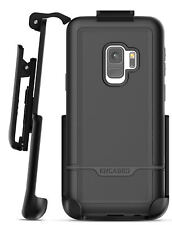 Samsung Galaxy S9 Belt Clip Case, Encased Tough Cover w/ Holster - Black