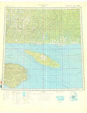 Russian Soviet Military Topographic Maps - GASPE (Canada), 1:1 000 000, ed.1990
