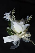 Rose Stephenotsis Lily of the Valley Beautiful Corsage - G217
