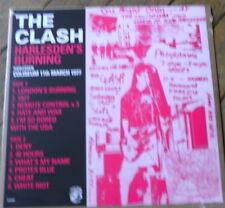 THE CLASH Harlesden's burning Live 77 RARE LP