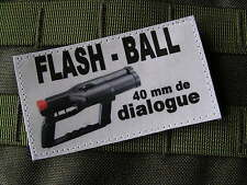 SNAKE PATCH - HUMOUR POLICE - FLASHBALL article fantaisie ECUSSON