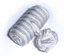 White & Grey Knot & Bar CUFFLINKS, Cuff Links