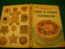 Family Circle cake & cookie cookbook hardcover 1953 cookie baking
