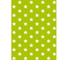 Klebefolie - Möbelfolie Stars - Sterne grün -  45 cm x 200 cm Dekorfolie