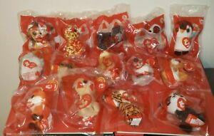 McDonalds 2021 TY Teenie Beanie Boo's Happy Meal Set of 14 Sealed Toys BRAND NEW