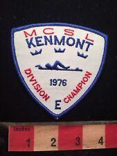 Vtg 1976 MCSL KENMONT DIVISION CHAMPION Swim Patch 79WI