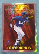1997 Topps Season's Best #SB22 Tom Goodwin Kansas City Royals Baseball Card