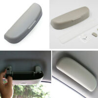 Portable Car Interior Roof Sunglasses Eyeglasses Storage Case Holder Box Grey