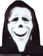Masques et loups noirs horreur pour déguisements et costumes