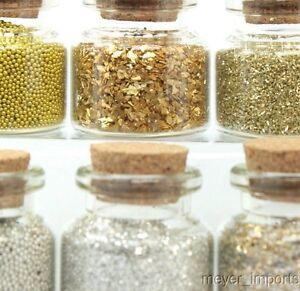 Gold & Silver Sampler Set - 311-M-0614 - German Glass Glitter - Meyer Imports