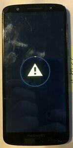 [BROKEN] Motorola Moto G6 XT1925 Black 32GB (Unknown) No Power, It Tries