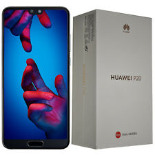 BNIB Huawei P20 Single-SIM EML-L29 128GB Black Factory Unlocked 4G/LTE OEM