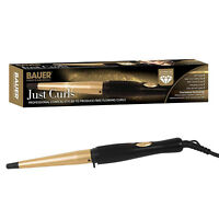 Professional Conical Ceramic Hair Curling Wand Salon Curls Tong Styler