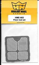 Highlight Model Photo Etch Classic Floor Mat Set in 1/24-25 HMO 003 ST