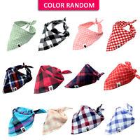 Paquete de 5 pañuelos de Bandana para Perro Y Gatos Collare Bufanda Grande S M L