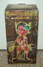 2004 Iron Maiden Somewhere In Time Eddie Head Knocker BobbleHead NECA Toy Figure
