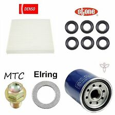 Tune Up Kit Filters Plug Gasket Tube Seals for Acura ILX 2.4L; Gas 2013-2014