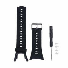 Caoutchouc Noir Bracelet de Montre pour Suunto AMBIT2 S Rouge AMBIT3 Sport #
