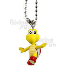 GENUINE TAKARA TOMY Super Mario Bros Red Koopa Troopa Figure Key Chain Nintendo