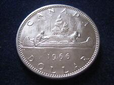 "MDS KANADA / CANADA DOLLAR 1966 ""INDIANER + KANU"", SILBER  #10"